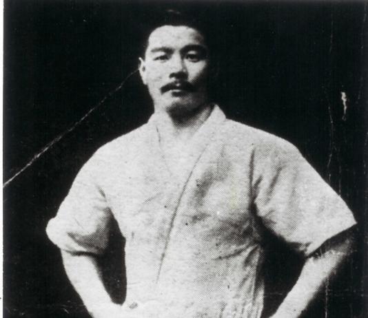 maeda sensei, considered the forerunner of modern BJJ