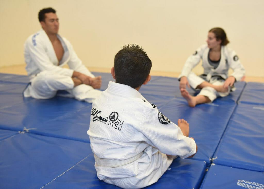 coaching BJJ teaching BJJ