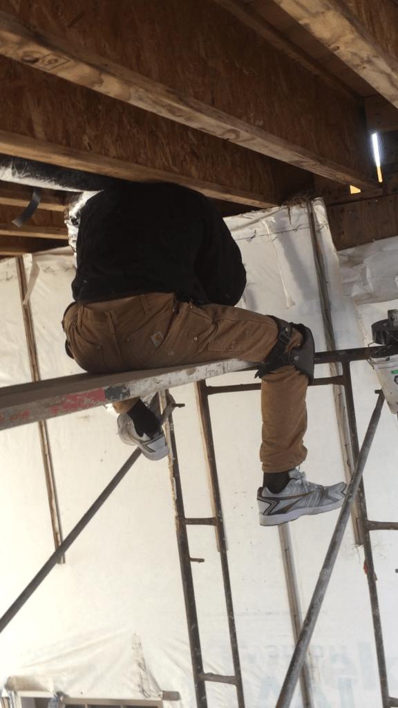 construction HVAC trade for BJJ