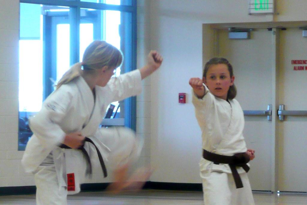 karate-punching
